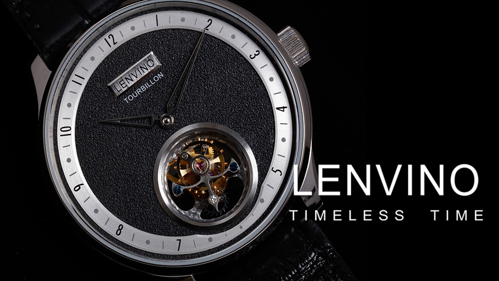 US$499 Real Flying Tourbillon Modern Minimal Design Watches project video thumbnail