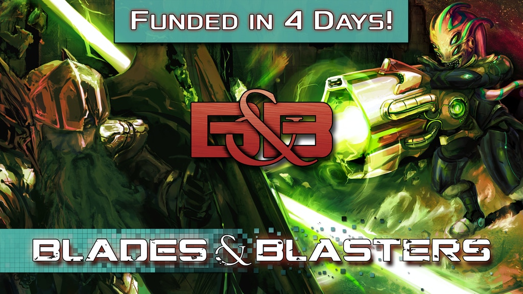 Blades & Blasters: 5e DnD Alien Invasion Rulebook & Bestiary project video thumbnail