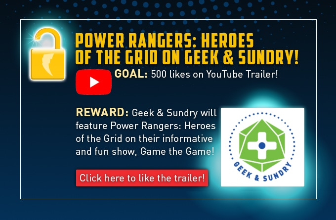 Power Rangers: Heroes of the Grid Board Game by Renegade