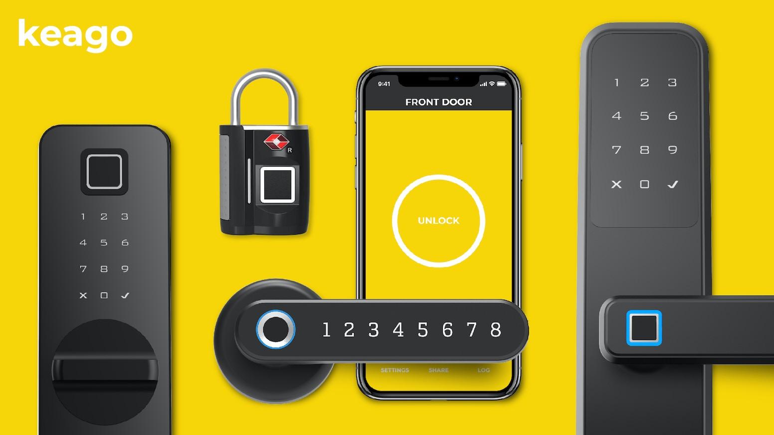 Keago: A Smartlock Without Limits! by Keago » Yes, we're