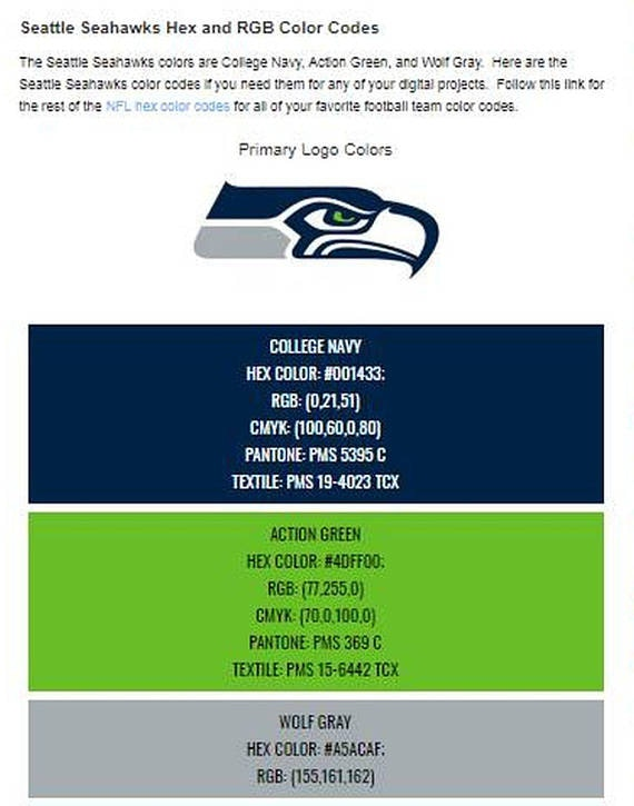 Seattle Sports Football 2-3 combos