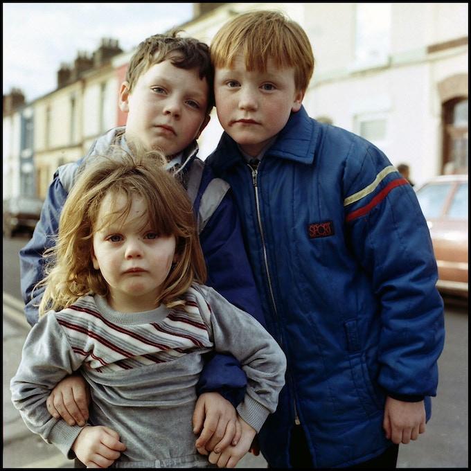 Reward Print 5 Joseph Ainscough, James Seddon and Melanie Seddon. Kearsly St. Kirkdale 1987.