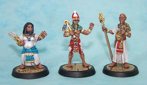 3. Nobleman, Pharaoh and High Priest