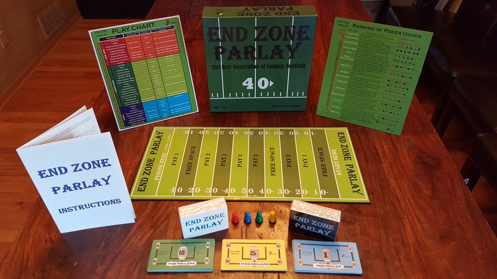 Project image for End Zone Parlay: Next Generation in Fantasy Football