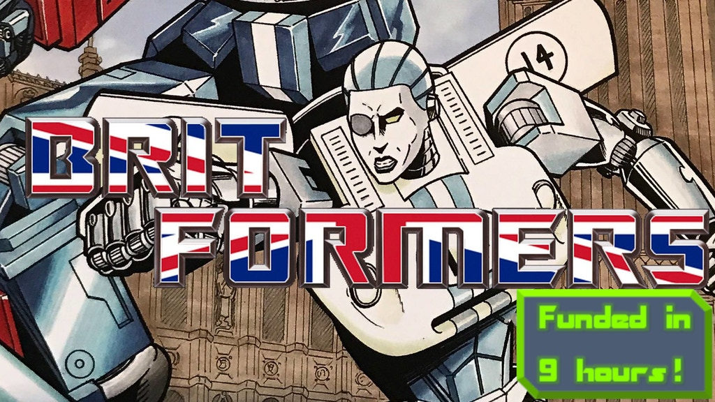 BRITFORMERS: Issue 1 project video thumbnail