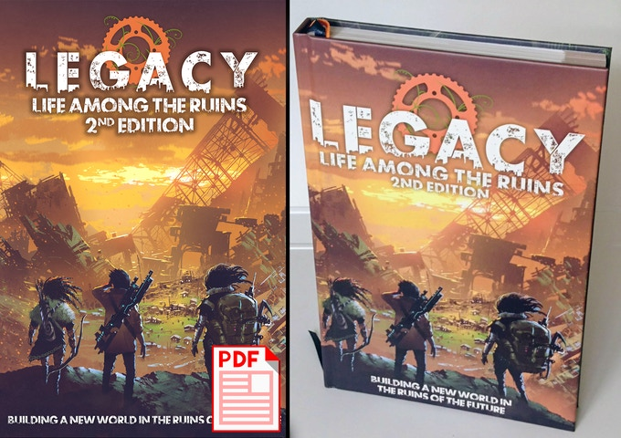 Legacy: Life Among the Ruins - The Next World by Jay Iles