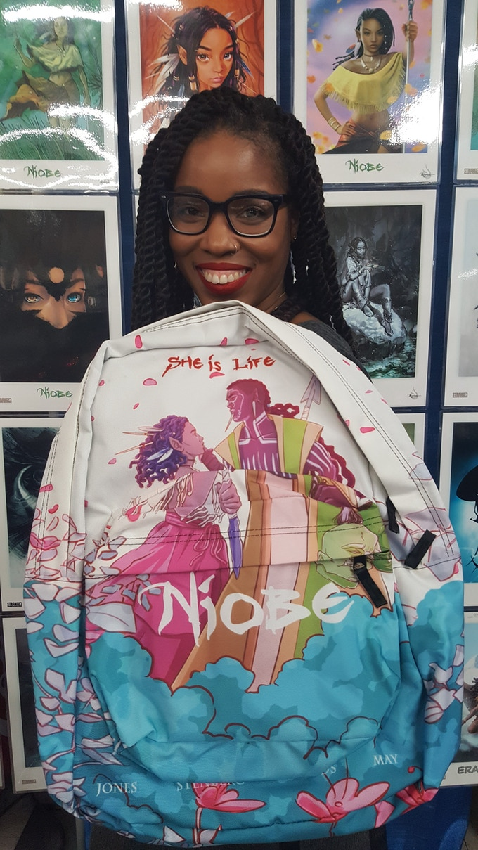 Niobe backpacks by BeHuman Canvas