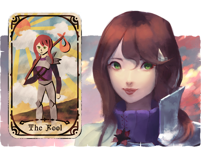Tarot cards can be found for each of the playable characters, which unlock additional abilities.