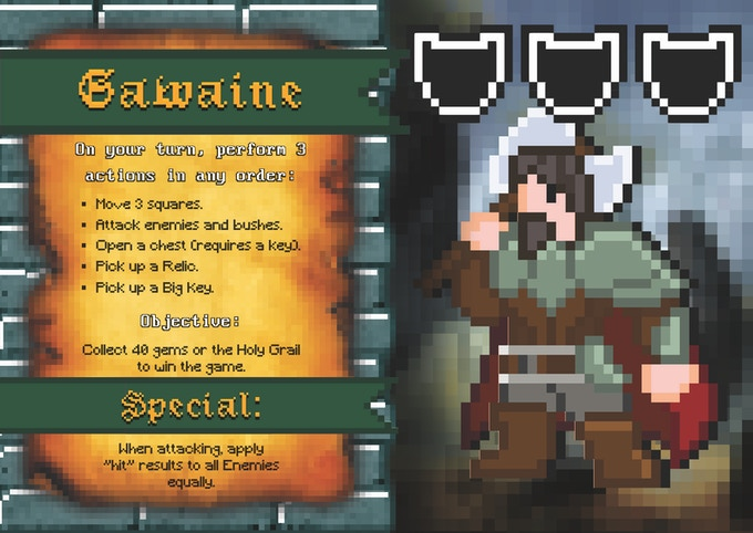 Updated Gawaine Sprite!  The free character you unlocked!