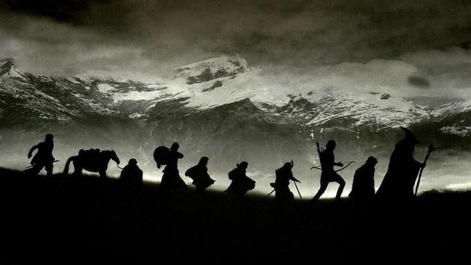 Some Tolkien creations questing. © WingNut Films, The Saul Zaentz Company & New Line Cinema.