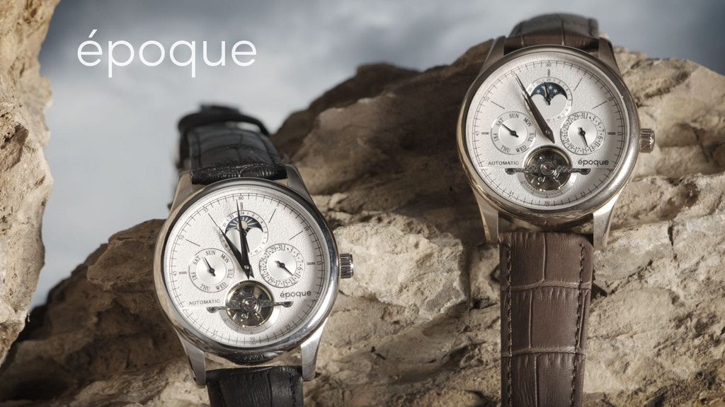 epoque - The Flywheel Automatic Watch Project