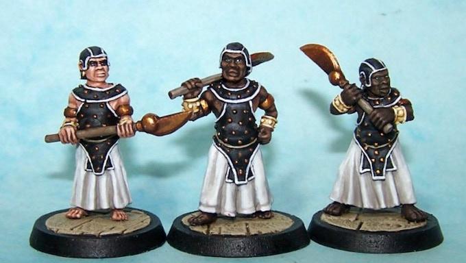9. Eunuch Guards II (Axe-Maces)