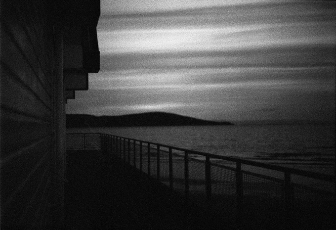 Beach Front. 35mm film. Photograph by Tim Archibald