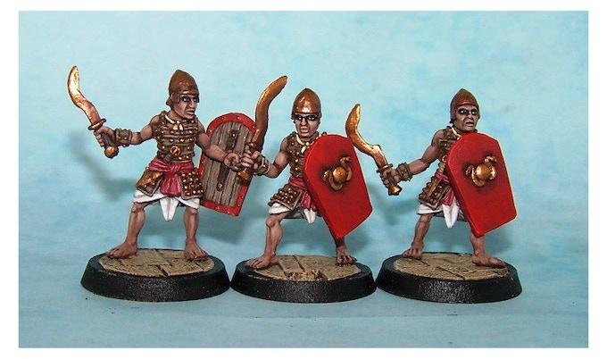 18. Egyptian Palace Guards II (Khopesh swords)