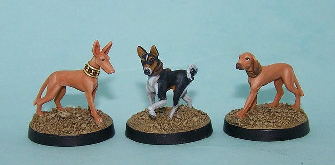 21. Egyptian Hunting Dogs  * £6
