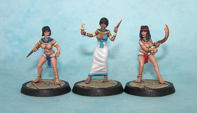 22. Armed Egyptian Girls