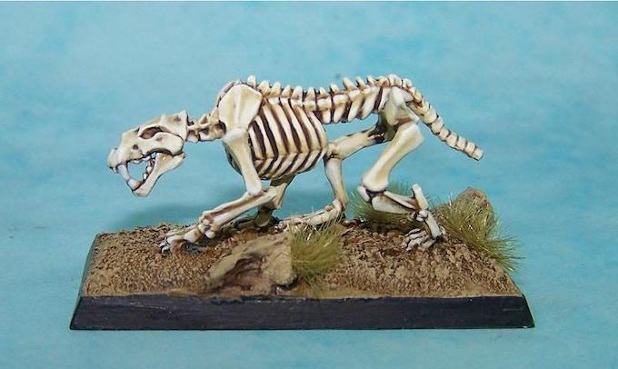 28. Skeletal Lion  * £6