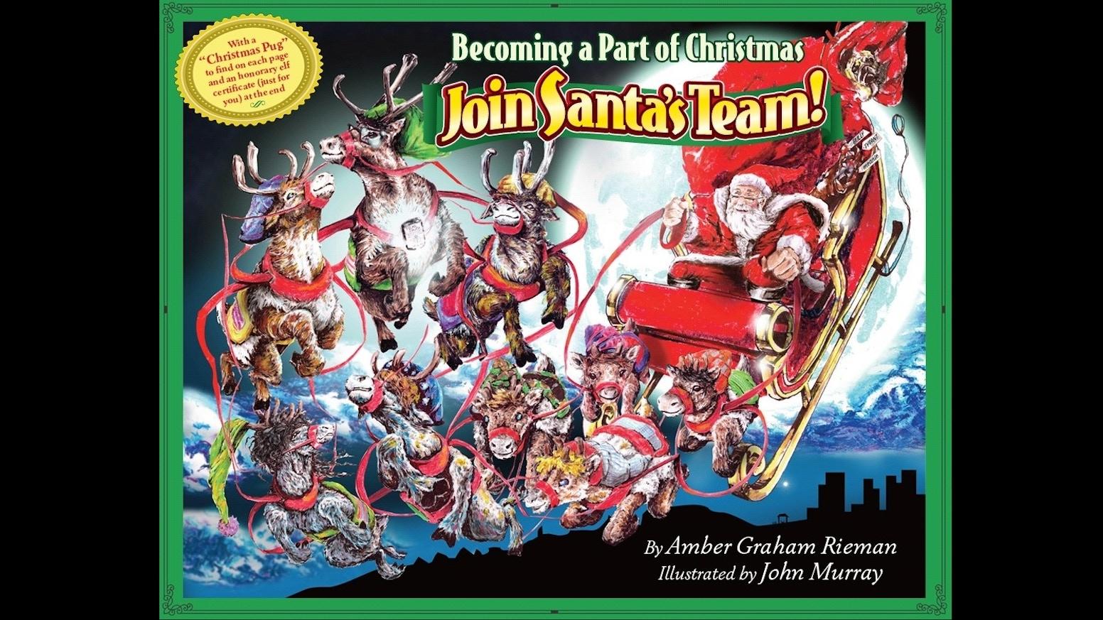 becoming a part of christmas join santa s team by thomas graham