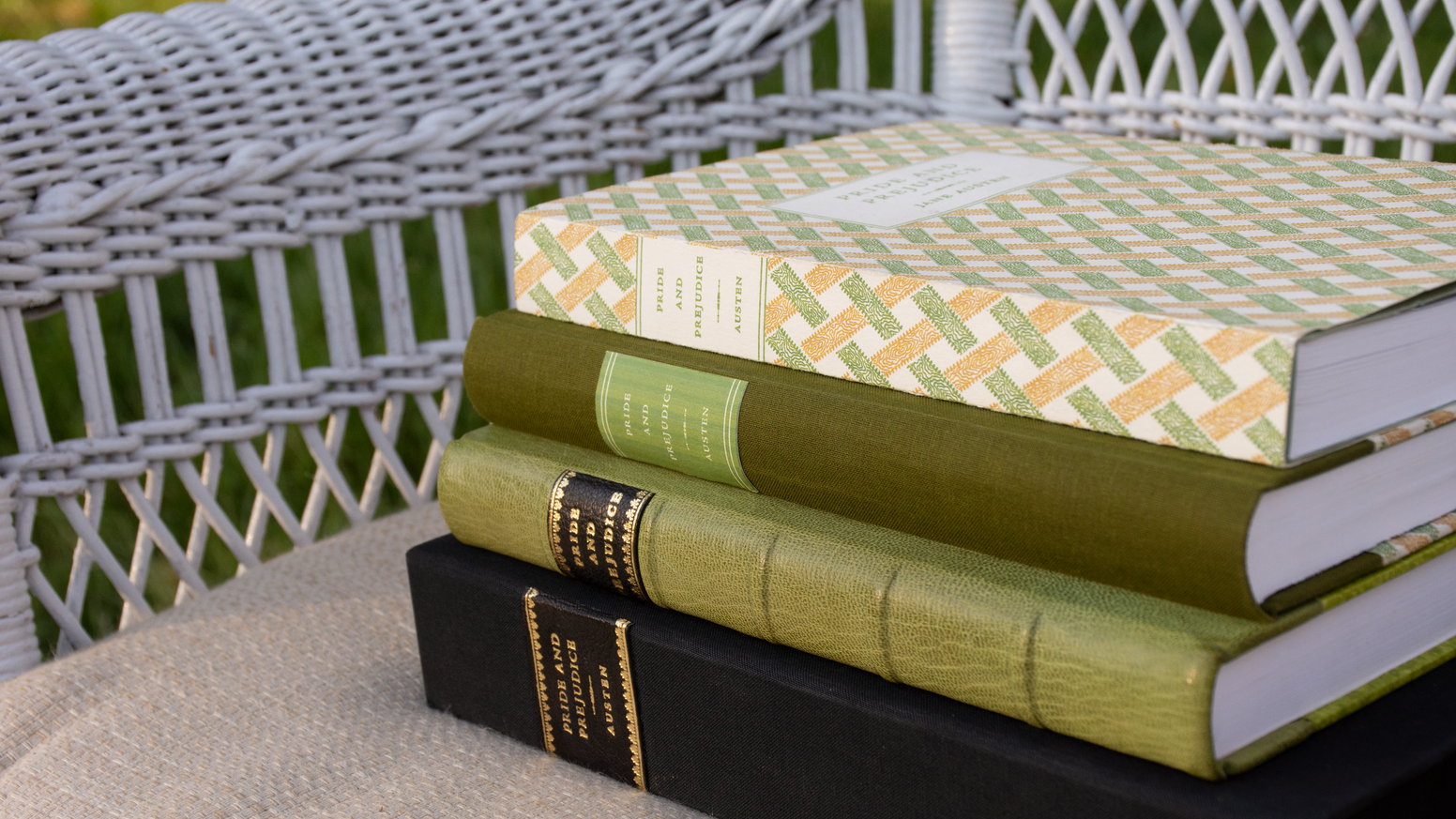 We are returning Jane Austen's masterpiece, PRIDE AND PREJUDICE, to its roots with this letterpress printed and hand-bound edition.