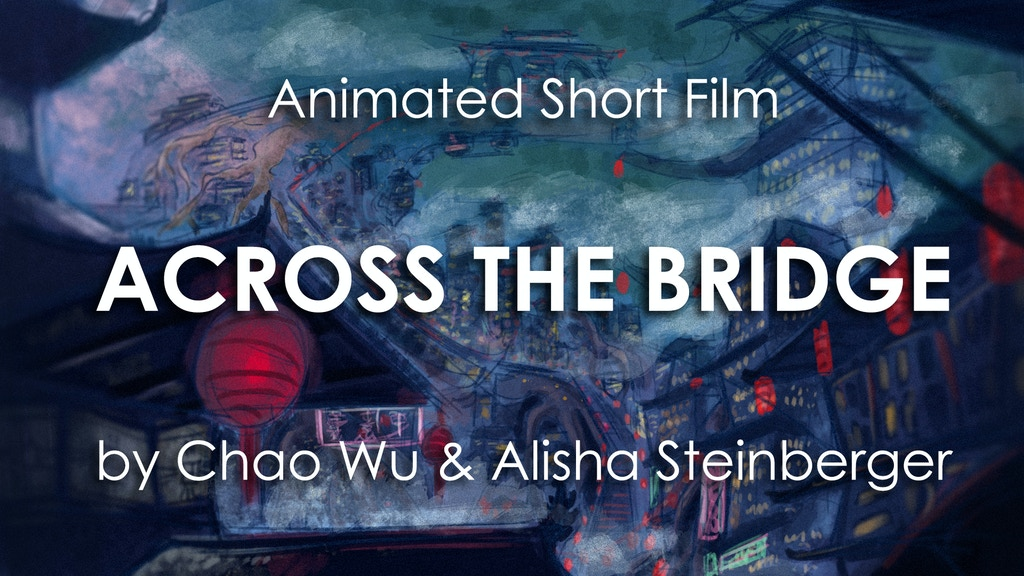 2D ANIMATION MEETS 3D ANIMATION IN Across the Bridge project video thumbnail
