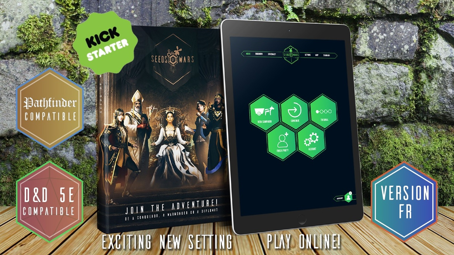 Embody a powerful ruler in a new fantasy setting and control entire lands. Enhance your gameplay with our convenient web application.