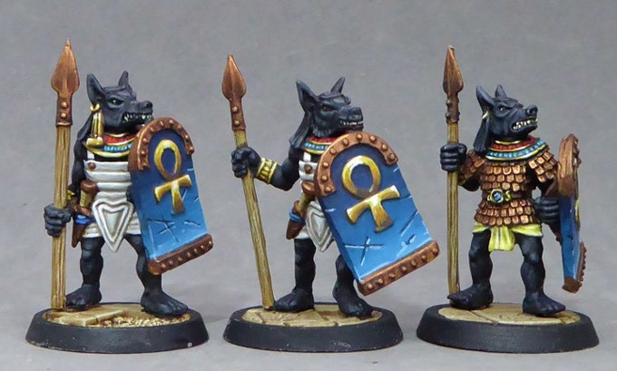 35. Anubis Warriors I (Spears)