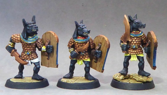 36. Anubis Warriors II (Swords in Scale Armour)