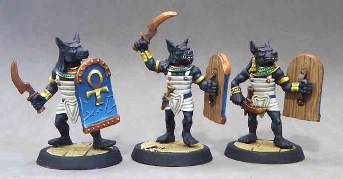 37. Anubis Warriors III (Swords in Linen Armour)