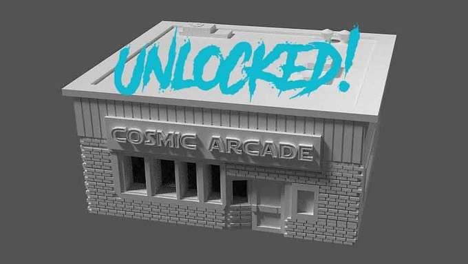 UNLOCKED - Cosmic arcade is the hottest spot in town for the best games of 1983!