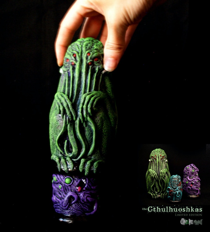 discover the matrioshka pieces one by one