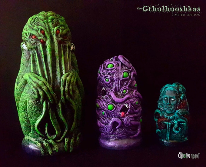 The Cthulhuoshkas full set