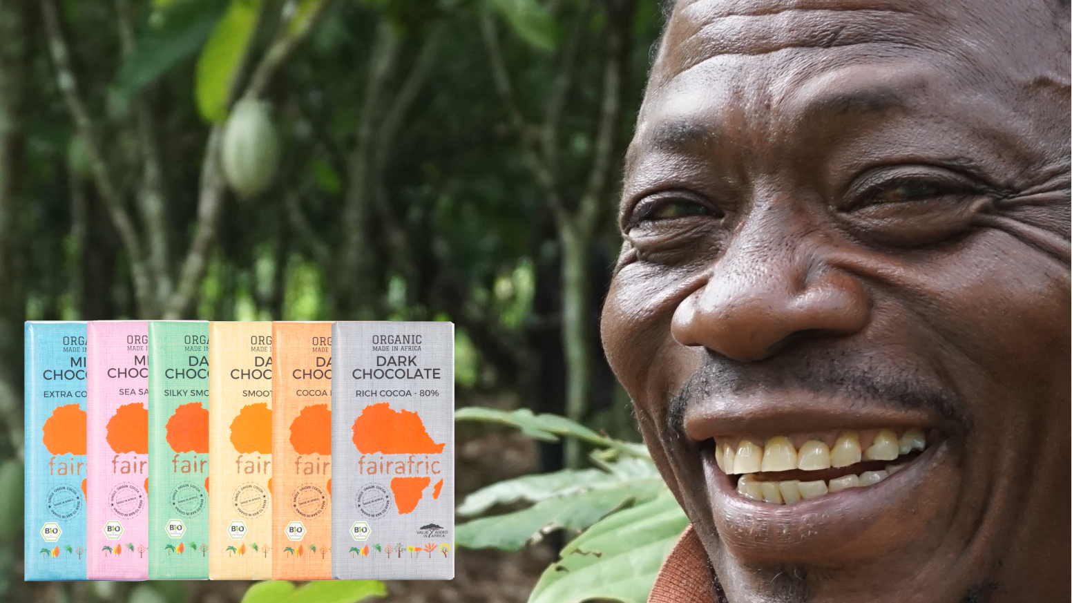 fairafric wants to give company shares to cocoa farmers and massively improve its environmental footprint
