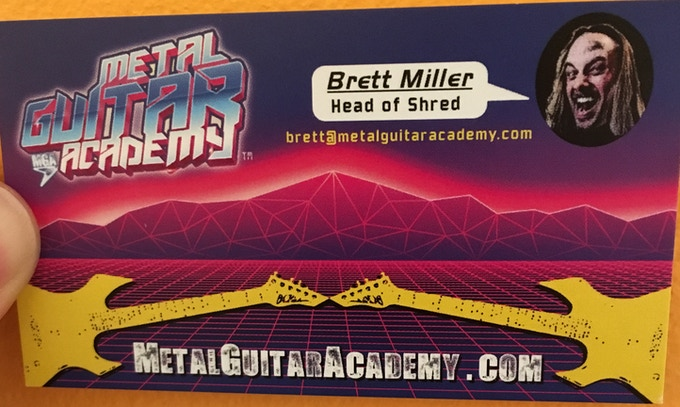Brett Miller - MGA's Head of Shred!
