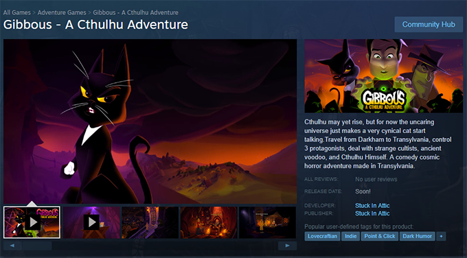 Gibbous - A Cthulhu Adventure by Stuck In Attic » Steam Page