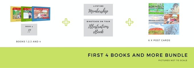 $75 First 4 Books Bundle