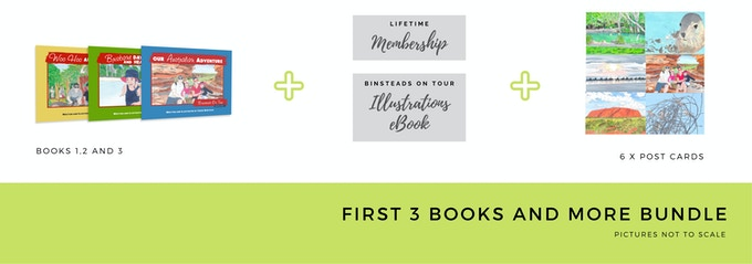 $60 Early Bird First 3 Books Bundle