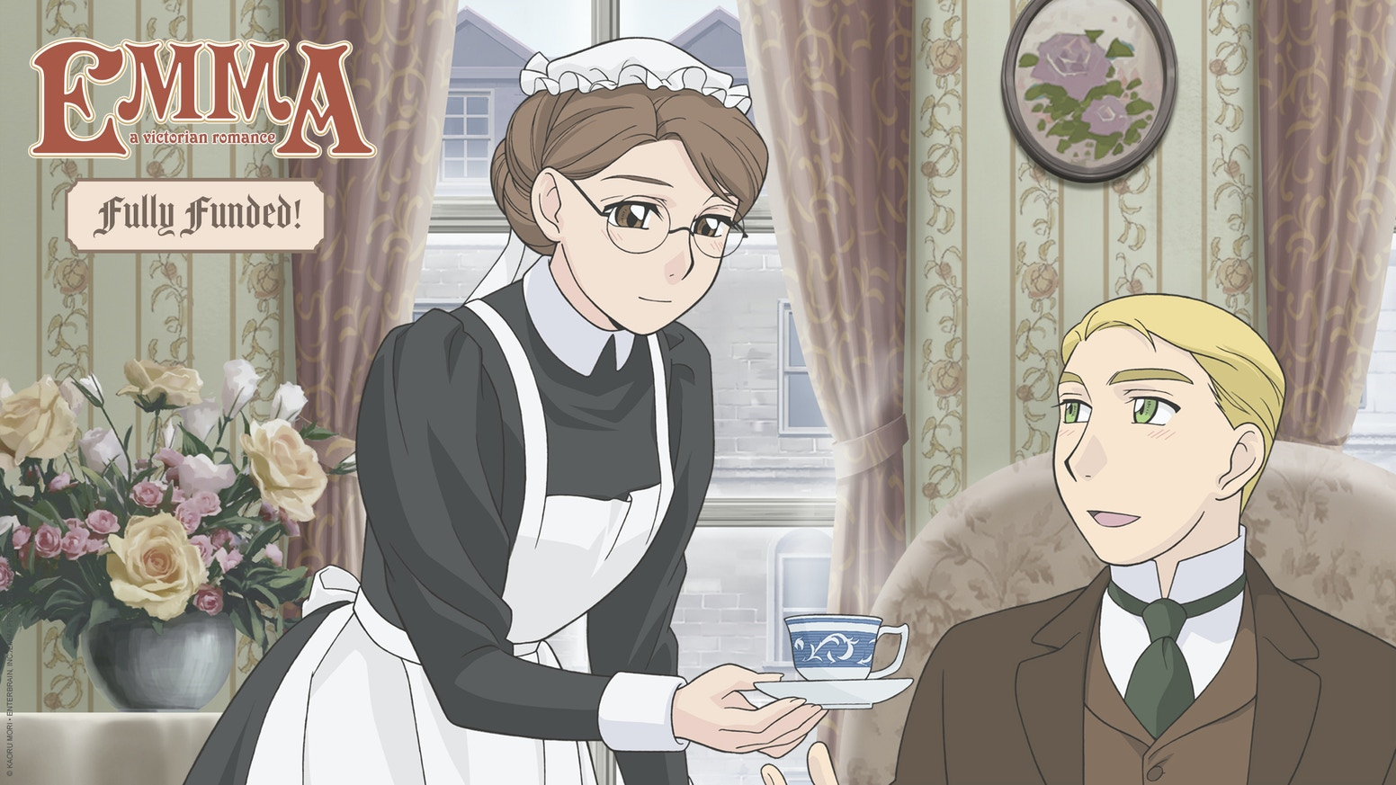 This project is to create an English Dubbed HD production of the Emma A Victorian Romance anime and release it on Blu-ray!