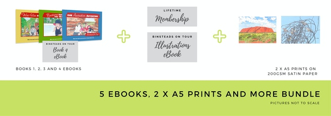 $30 5 x eBooks, 2 x A5 Prints and More