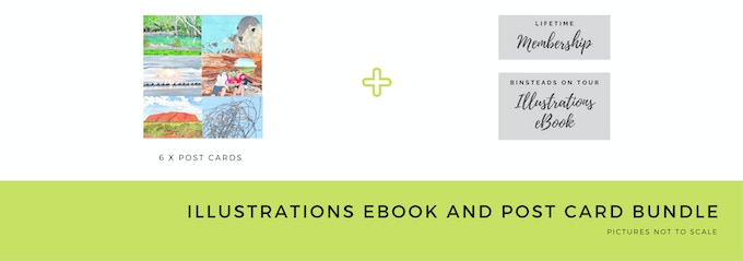 $15 Early Bird Illustration eBook and Post Cards