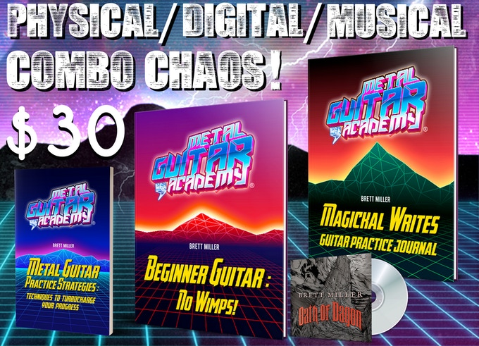 Physical / Digital / Musical Combo Chaos! - $30