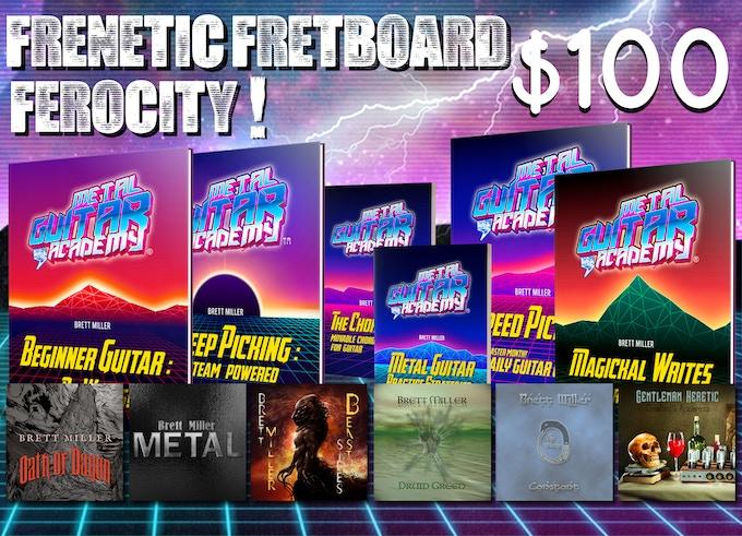 Frenetic Fretboard Ferocity! - $100