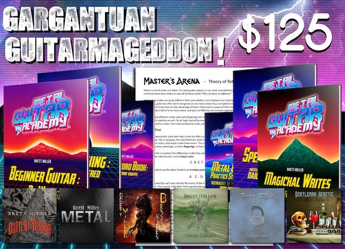 Gargantuan Guitarmageddon! - $125