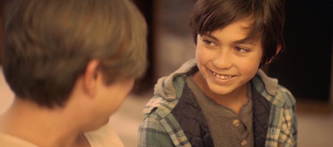 Screenshot of Nassiri's latest film, Charlie and the Baker