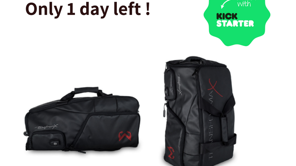 Transforma X: The World's First Self-Cleaning Travel/Gym Bag project video thumbnail