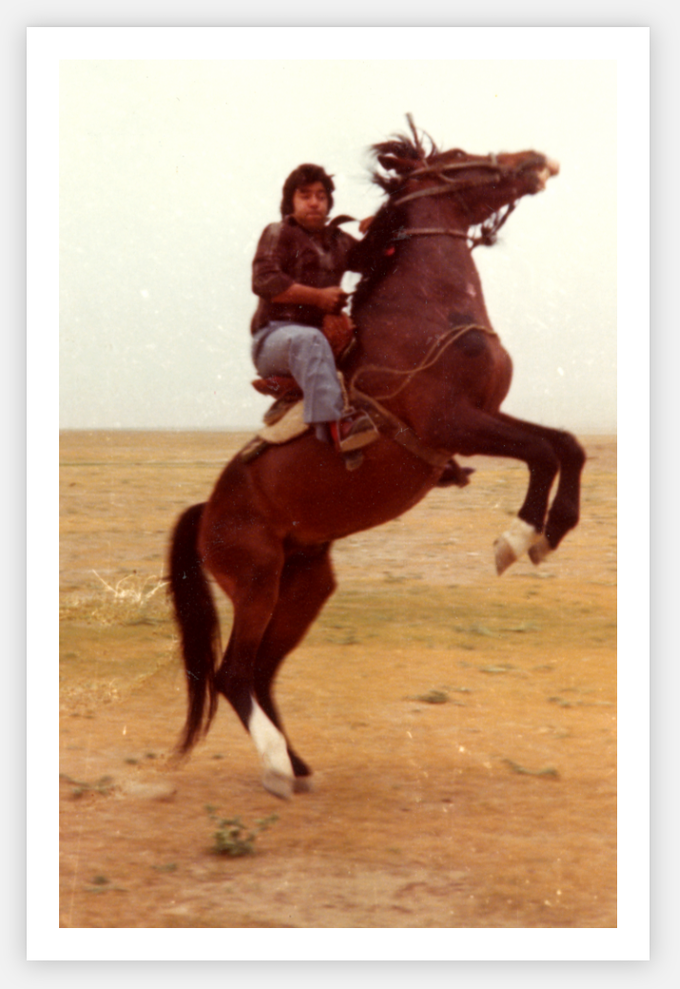 For just $30, you'll get a set a postcards with adventurous + fun images of Ahmad Zahir, to send to all your friends ... yeehaw!