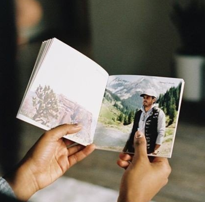 These 5in x 5in photobooks are perfect for your desk, coffee table, or really anywhere. We're going to fill one with iconic images of Zahir and Afghanistan during his Golden Era... and you can nab one for a $150 donation!