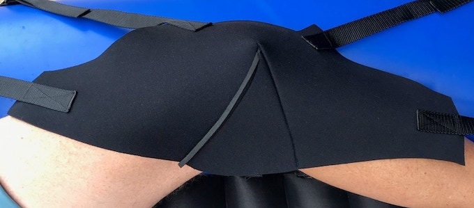 Neoprene knee straps, the most secure and comfy on the market