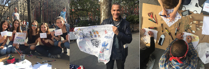 From our Washington Square Park Pop-Up