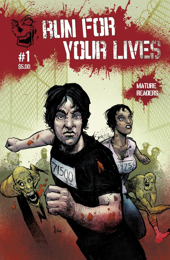 Run For Your Lives #1 Cover
