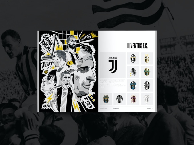 Juventus - Supporting Artwork from Massimo Gangemi
